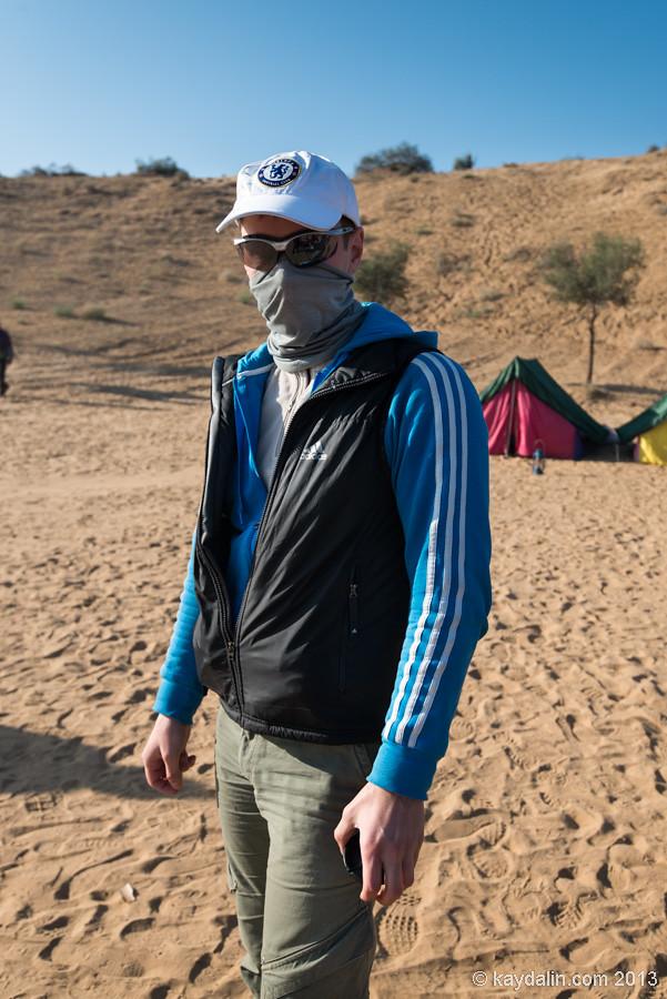 Recon wrap mask - dune in India. Bikaner