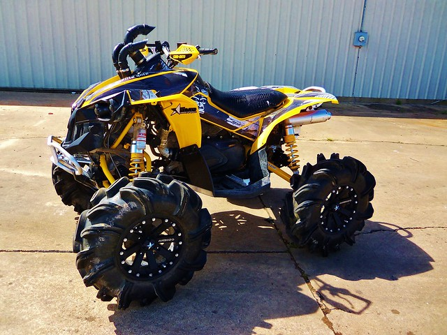 Custom Can Am Renegade Lifted