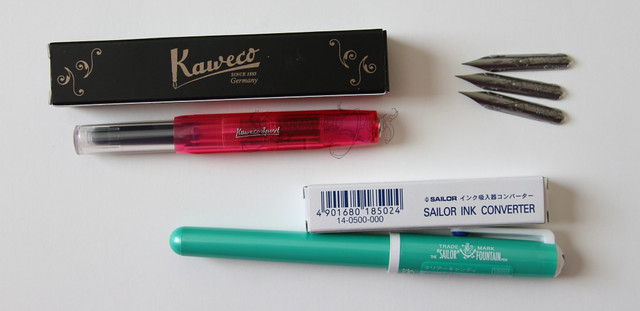 JetPens Goodies: Sailor & Kaweco & Brause
