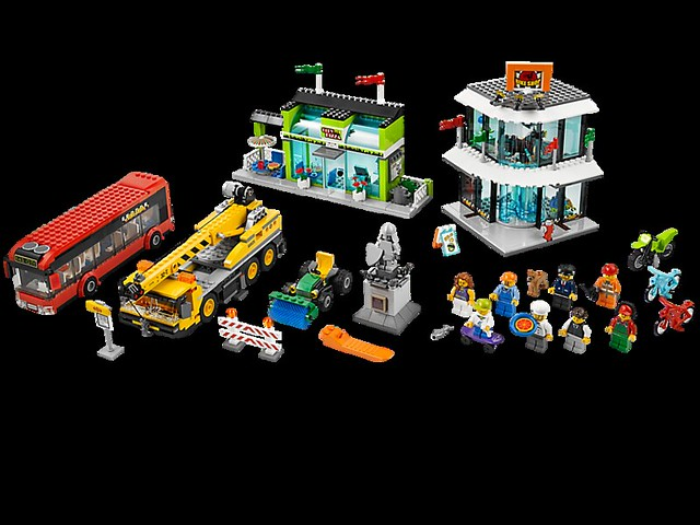 LEGO City 60026 - Town Square