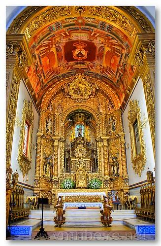 Capela-mor da Igreja do Carmo, em Faro by VRfoto