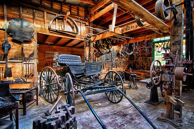 Bostons Carriage Factory – Coal Creel Korumburra