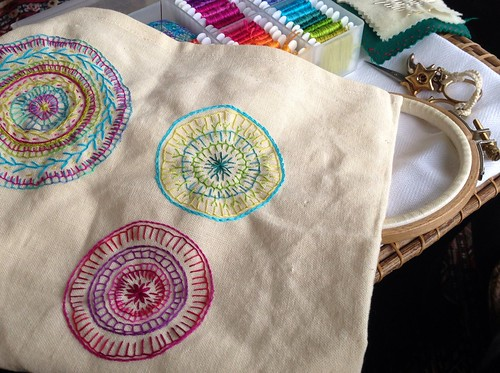 Thread Mandalas by MagaMerlina