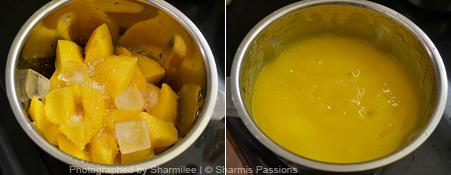 How to make mango juice - Step1