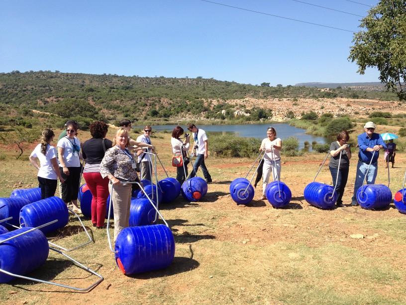 Collette Foundation: Kgautswane, Limpopo, April 2013