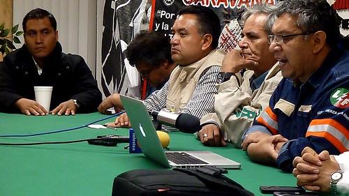 20130424 La caravana en Nuevo Laredo