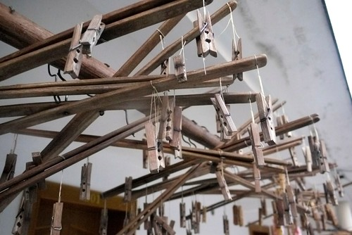 I am pretty sure these hangers are handmade...