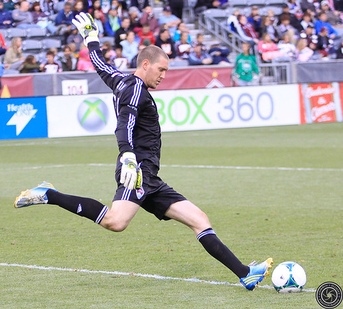 Clinton Irwin (Rapids Keeper), Colorado Rapids v. Seattle Sounders FC Apr. 20, 2013 by Corbin Elliott Photography