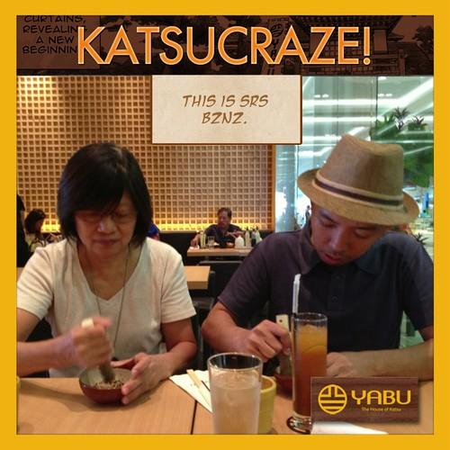 Yabu Katsu Craze