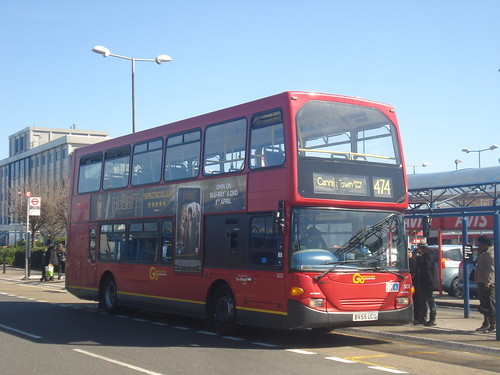Docklands Buses SO2 on Route 474, London City Airport