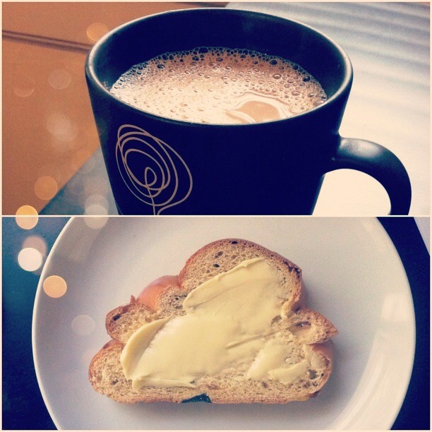 Coffee and Challah