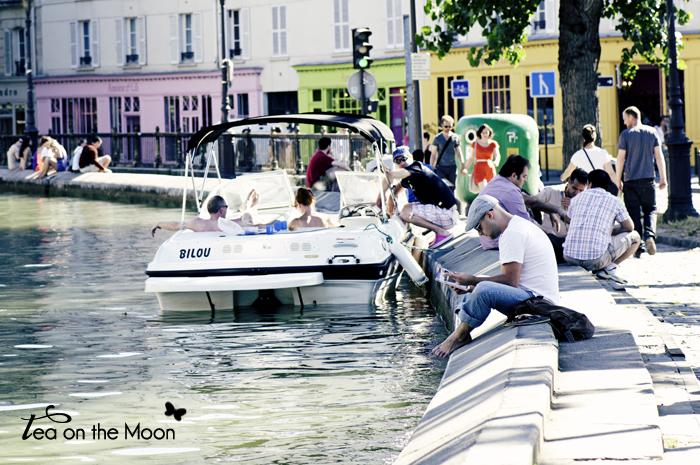 Canal de Sant Martin Paris 06