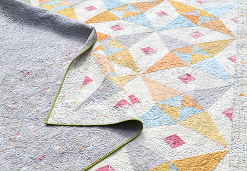 Paper Petals Quilt - close up