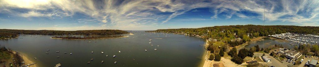 Northport Harbor Panorama, NY