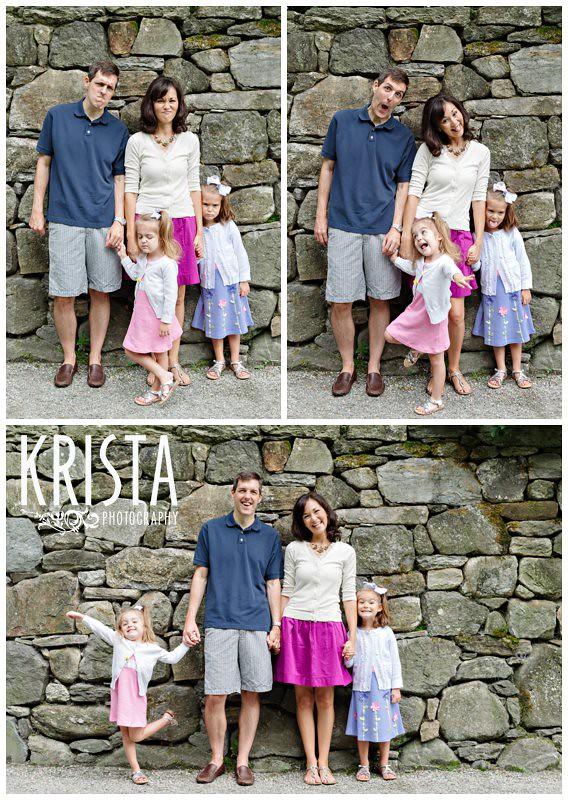 Arnold Arboretum family portraits