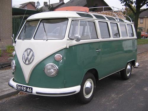 EH-98-46 Volkswagen Transporter Samba 21raams 1965