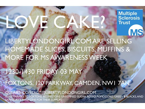 London Liberty Girl cake sale in Camden