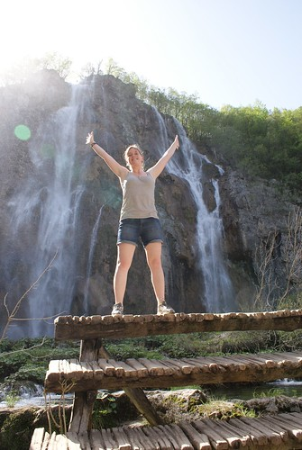 At the Veliki Slap (big waterfall)