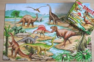 Dinosaur Puzzle M&D