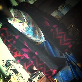 Escada jacket, Pucci scarf from tag sale in Great Neck