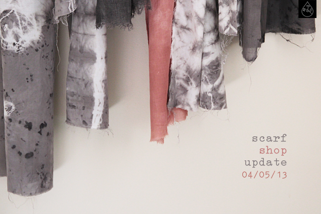 scarves and linen panels