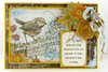 A bird does not sing Stampendous card