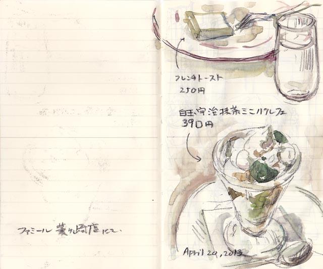food sketch:dessert-1