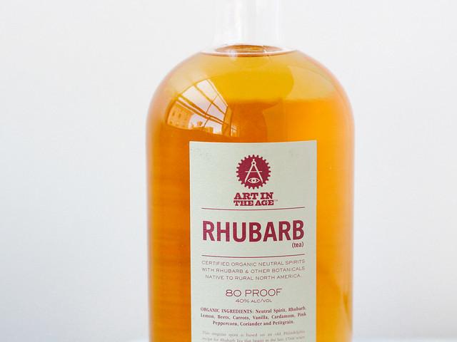 RHUBARB (tea)