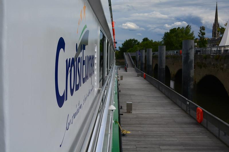 C'est le 30ème navire de la compagnie Croisieurope - Visite du MS CYRANO DE BERGERAC - 17 mai 2013 - Bordeaux