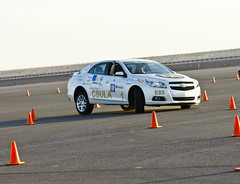 Cal State LA during Autocross