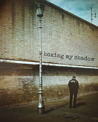 boxing my shadow
