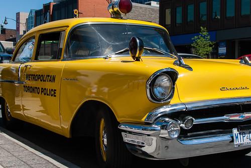 1957 Chevrolet Metropolitan Toronto Police car - #137/365 by PJMixer
