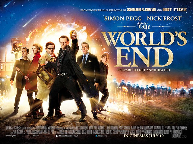 The World's End / International Poster