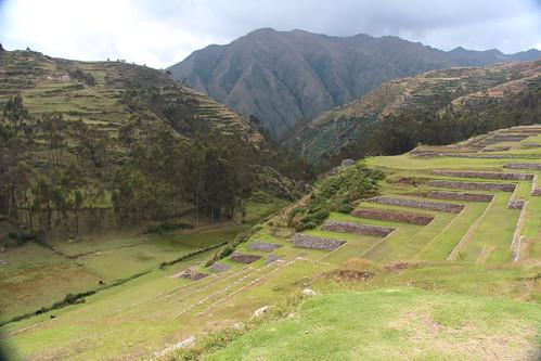 Chinchero Peru Incan terraces