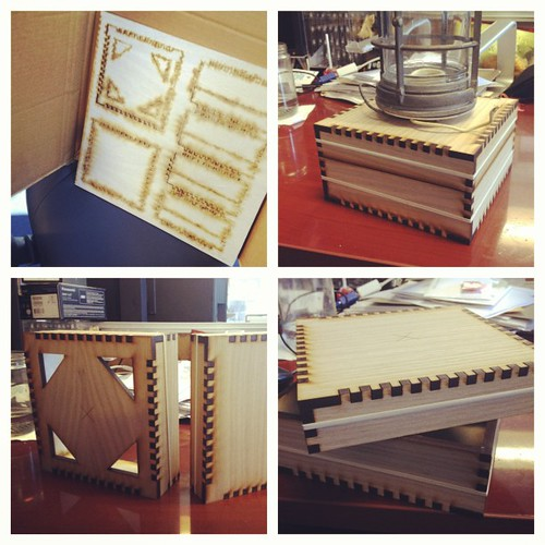 Lasercut box=great success. Design/code to follow.