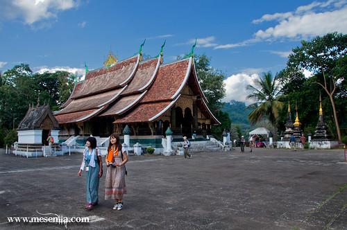Templo de Wat Xieng Thong en Luang Prabang