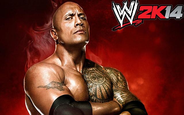 WWE 2K14 Game Wide Wallpaper