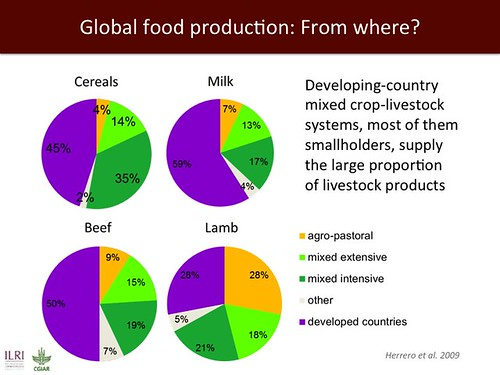 Global food production: From where?