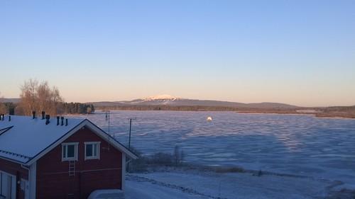 winter snow ice finland river blog levi fell kittilä ounasjoki pureview nokialumia1020