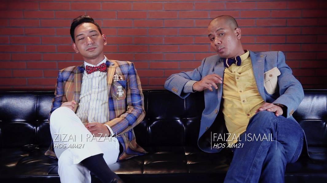 Sebab Zizan Razak & Faizal Ismail Dipilih Jadi Hos AIM 21