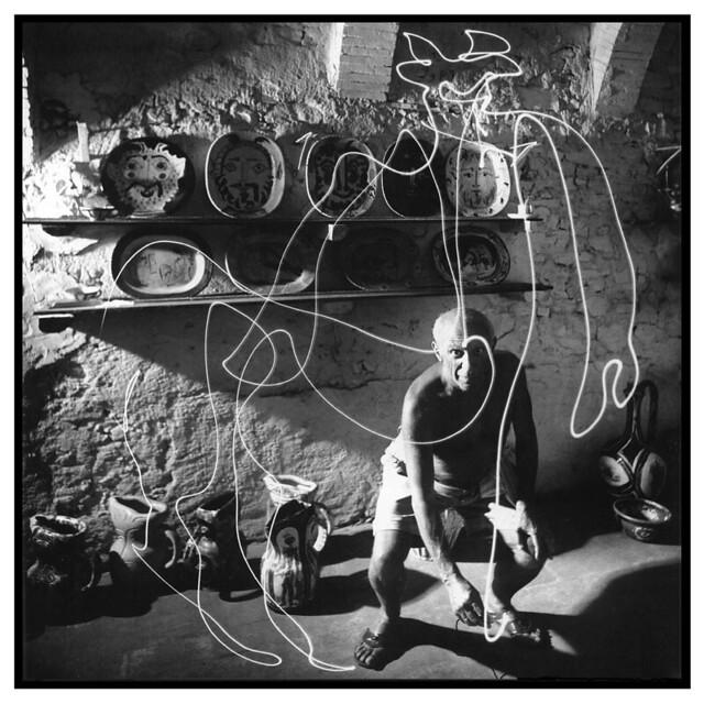Picasso e vinho de bananas