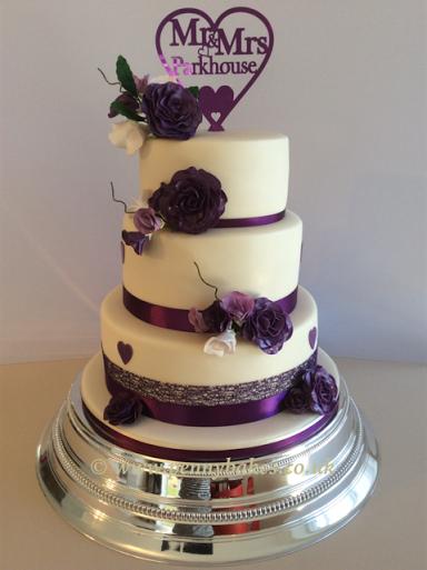 Purple Roses by Penny Grundon