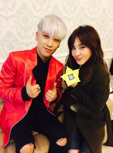 2NE1s DARA Backstage with BIGBANG Day 2 2015-04-26 Seoul 003