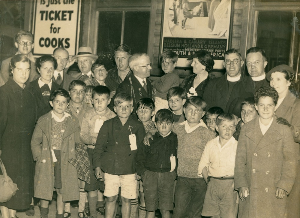 Welcoming Basque children to Newcastle upon Tyne