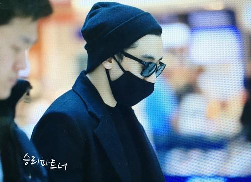 Big Bang - Incheon Airport - 21mar2015 - Seung Ri - Partnervi - 01