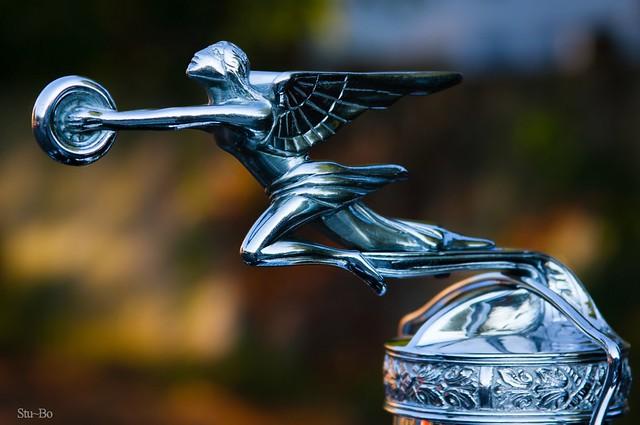 1929 Packard Goddess of speed