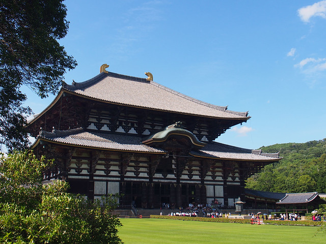 奈良東大寺主殿