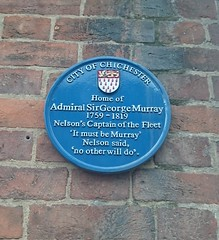 Photo of George Murray blue plaque
