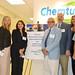 Rep. Rebimbas toured Chemtura's Nudenberg-Wheeler Technology Center.