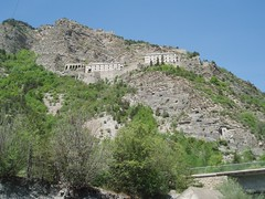 Fort de Tournoux on the banks of the Upper Ubaye Image